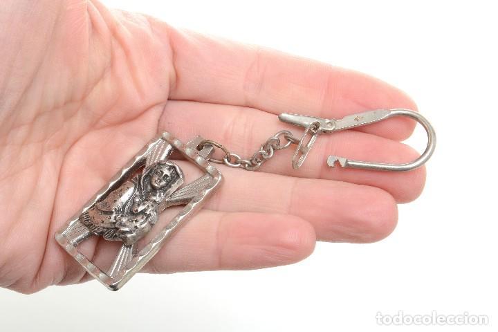Coleccionismo de llaveros: Llavero religioso, medalla llavero, medalla católica, virgen, llavero religioso, llavero católico - Foto 10 - 170079948