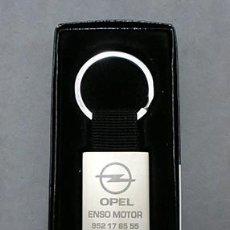 Coleccionismo de llaveros: LLAVERO DE METAL OPEL - ENSO MOTOR - LLAV-9430,2 - B-196. Lote 170675850