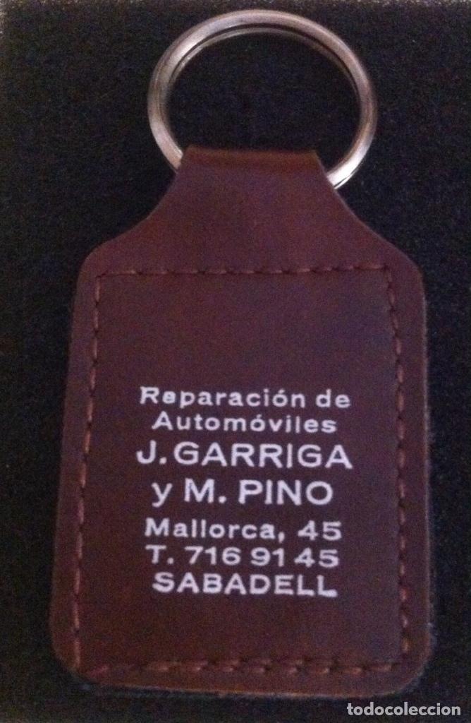 Coleccionismo de llaveros: ANTIGUO LLAVERO TALLER REPARACION DE AUTOMOVILES J.GARRIGA Y M.PINO (SABADELL) - Foto 2 - 171086818