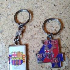 Coleccionismo de llaveros: LLAVEROS FC. BARCELONA. Lote 171088932