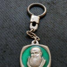 Coleccionismo de llaveros: LLAVERO RELIGIOSO FRAY LEOPOLDO DE ALPANDEIRE GRANADA. Lote 171222634