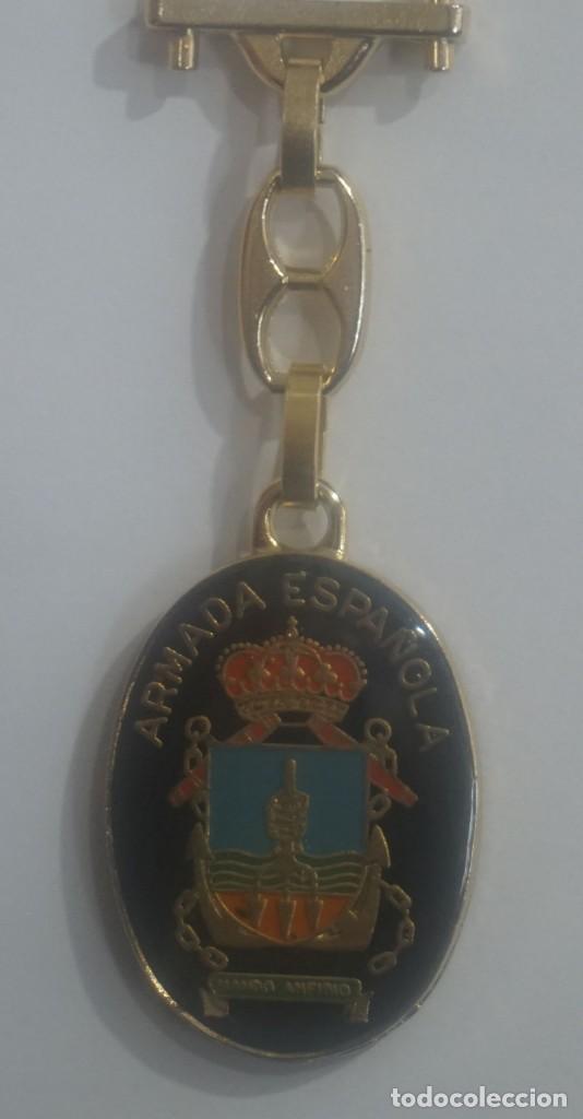 ANTIGUO LLAVERO / ARMADA ESPAÑOLA (Coleccionismo - Llaveros)