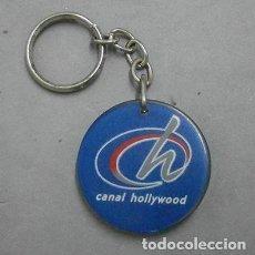 Colecionismo de porta-chaves: LLAVERO DE METACRILATO CANAL HOLLYWOOD - LLAV-9654 - B-205. Lote 172066343