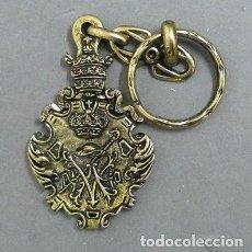 Collezionismo di Portachiavi: LLAVERO DE METAL HERMANDAD DE LA DIVINA PASTORA, CANTILLANA - LLAV-9662 - B-205. Lote 230261950