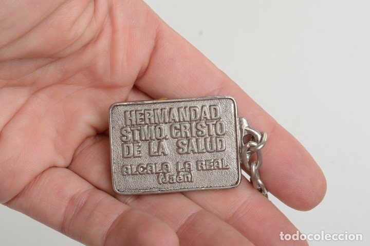 Coleccionismo de llaveros: Llavero vintage de Jesucristo, llavero católico, llavero cristiano - Foto 5 - 172171959