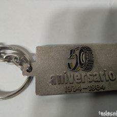 Coleccionismo de llaveros: LLAVERO MICHELIN 50 ANIVERSARIO. Lote 172863419