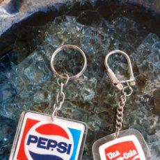 Collectionnisme de portes-clés: COCA-COLA PEPSI.. Lote 172983250