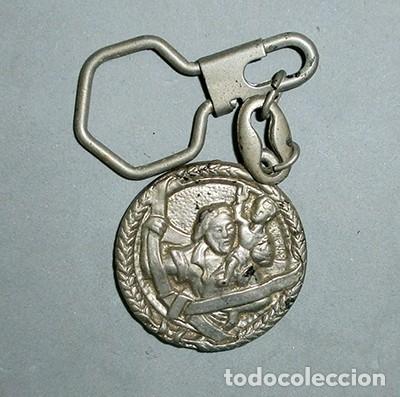 LLAVERO DE METAL RESTAURANT EL MESON, MARCHENA - LLAV-9810 - B-210 (Coleccionismo - Llaveros)