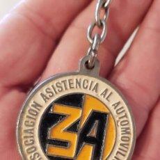 Coleccionismo de llaveros: LLAVERO, ASOCIACION ASISTENCIA AL AUTOMOVILISTA ESPAÑA(DELEGACIÓN DE CÓRDOBA Y SEVILLA.). Lote 173790929