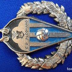 Coleccionismo de llaveros: LLAVERO CLUB DEPORTIVO ALCOYANO -BODAS DE ORO 1929- 1979. Lote 174106833