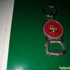 Coleccionismo de llaveros: ANTIGUO LLAVERO ABRIDOR DEL FC BARCELONA. LUIS FIGO. Lote 174265969