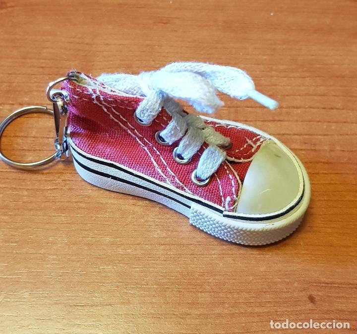 zapatillas tipo converse rosa
