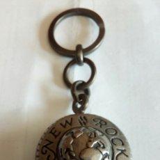 Coleccionismo de llaveros: LLAVERO DE PUBLICIDAD NEW ROCK. Lote 175204415