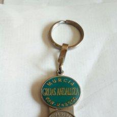 Coleccionismo de llaveros: LLAVERO DE PUBLICIDAD GRUAS ANDALUZA. Lote 175204512