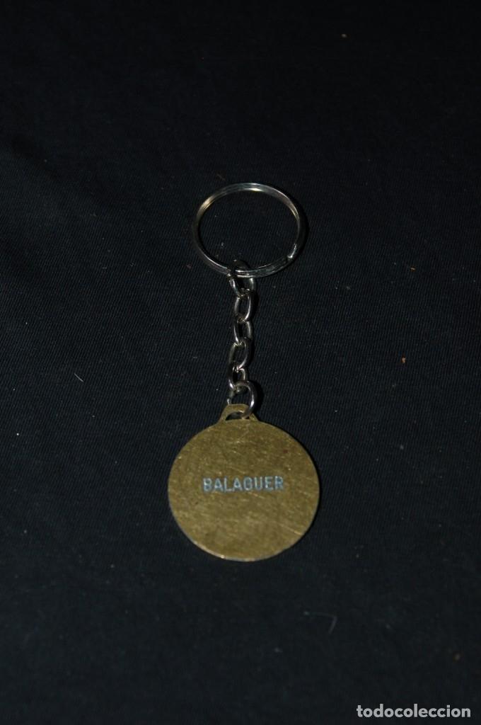 Coleccionismo de llaveros: Llavero medalla atletismo Balaguer - Foto 2 - 176209240