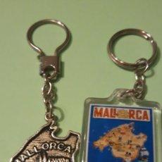 Coleccionismo de llaveros: LOTE LLAVEROS VINTAGE DE MALLORCA. Lote 177493274