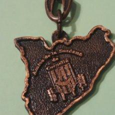 Coleccionismo de llaveros: LOTE 2 LLAVEROS VINTAGE DE CORNELLÀ SARDANA I MERCAT. Lote 177494095
