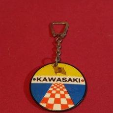 Coleccionismo de llaveros: LLAVERO KAWASAKI AÑOS 80. Lote 177516183