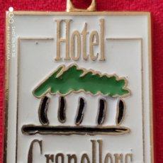 Coleccionismo de llaveros: HOTEL GRANOLLERS. AÑOS 90. Lote 177671045