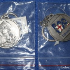 Coleccionismo de llaveros: LLAVERO COLOMBO 92 - QUINTO CENTENARIO - EXPO 92 - SEVILLA - BLUE COW ¡IMPECABLE!. Lote 177758255