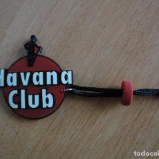 Coleccionismo de llaveros: LLAVERO HAVANA CLUB. GOMA Y CORDÓN. Lote 177832338