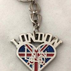 Coleccionismo de llaveros: LLAVERO LONDON ( LOVE ) COMO NUEVO. Lote 178644320