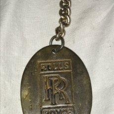 Coleccionismo de llaveros: LLAVERO ROLLS - ROYCE PROPIETARIO. Lote 178716167