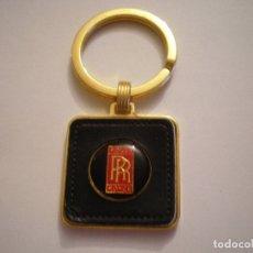 Coleccionismo de llaveros: LLAVERO ROLLS ROYCE. Lote 179296506