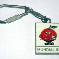 Coleccionismo de llaveros: NARANJITO MUNDIAL 82 SEDE ALICANTE, HOTEL MAYA EN BUEN ESTADO. Lote 182684442