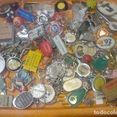 Coleccionismo de llaveros: LLAVEROS LOTE 2 KILOS APROX 100 UNIDADES LOTAZO VINTAGE LEER . Lote 183087606
