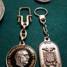Coleccionismo de llaveros: LLAVERO FRANCISCO FRANCO LEGIÓN CAUDILLO DE ESPAÑA UNIDAD INDIVISIBLE. Lote 183335182