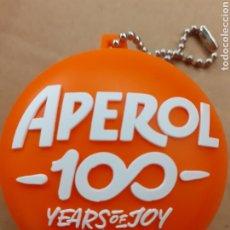 Coleccionismo de llaveros: LLAVERO- APEROL-100 YEARS ENJOY.. Lote 183511856