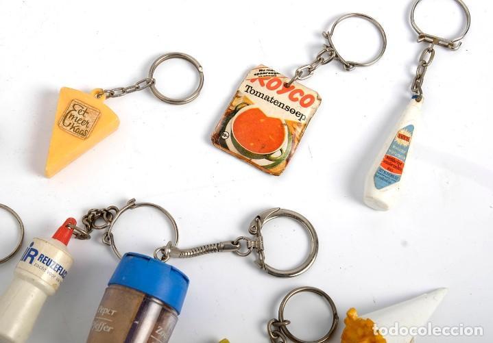 Coleccionismo de llaveros: 17 llaveros de productos de consumo, alimentación y hogar. Holanda. Años 60 - Foto 4 - 183747892