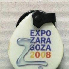 Coleccionismo de llaveros: LLAVERO EXPO ZARAGOZA 2008. Lote 184153725