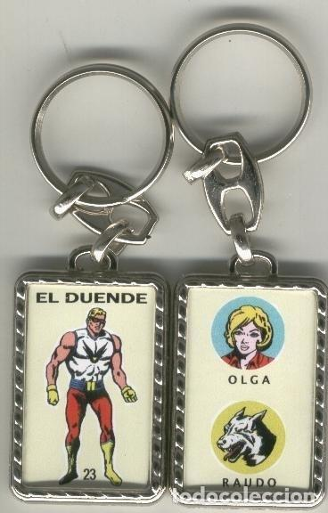 LLAVEROS COMIC ESPAÑOL: EL DUENDE (Coleccionismo - Llaveros)