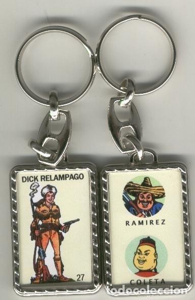 LLAVEROS COMIC ESPAÑOL: DICK RELAMPAGO (Coleccionismo - Llaveros)