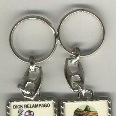 Coleccionismo de llaveros: LLAVEROS COMIC ESPAÑOL: DICK RELAMPAGO. Lote 184689330