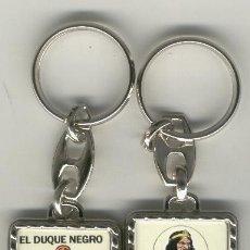 Coleccionismo de llaveros: LLAVEROS COMIC ESPAÑOL: EL DUQUE NEGRO. Lote 184690922