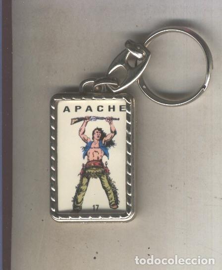 LLAVEROS COMIC ESPAÑOL: APACHE (Coleccionismo - Llaveros)