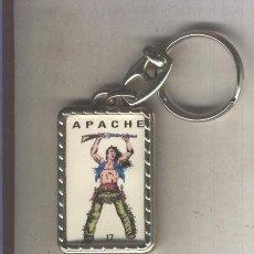Coleccionismo de llaveros: LLAVEROS COMIC ESPAÑOL: APACHE. Lote 184691365