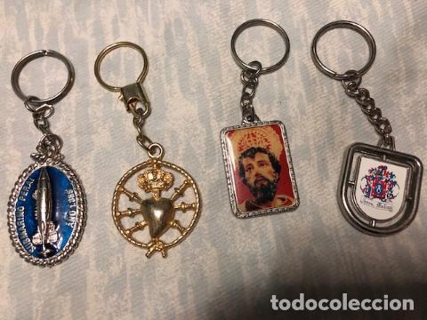 Coleccionismo de llaveros: Siete llaveros murcianos (submarino Peral, diversas cofradias de Semana Santa, etc.). - Foto 2 - 184927145
