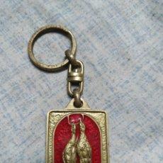 Coleccionismo de llaveros: LLAVERO DE MUESTRA PERDIZ O CODORNIZ. Lote 186098031