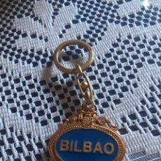 Coleccionismo de llaveros: LLAVERO ESCUDO CIUDAD BILBAO. Lote 186156753