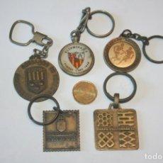 Coleccionismo de llaveros: LOTE 5 LLAVEROS ANTIGUOS VARIADOS DESCATALOGADOS *** COLECCIÓN PRIVADA *** VER OTROS LOTES. Lote 186223831