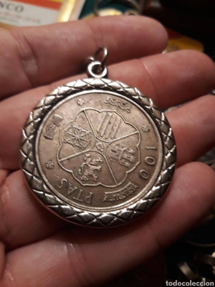 Coleccionismo de llaveros: Lote llaveros FRANCO uno con Moneda PLATA FALANGE de las JONS Valle de los Caídos CALIDAD(ALTA GAMA) - Foto 10 - 186463963