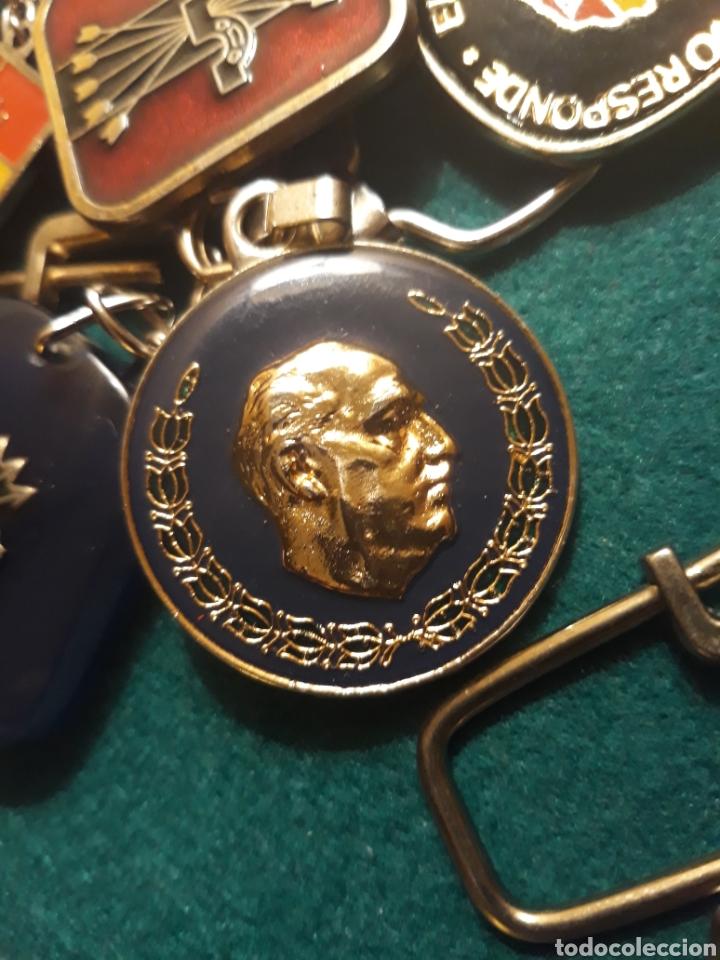 Coleccionismo de llaveros: Lote llaveros FRANCO uno con Moneda PLATA FALANGE de las JONS Valle de los Caídos CALIDAD(ALTA GAMA) - Foto 19 - 186463963
