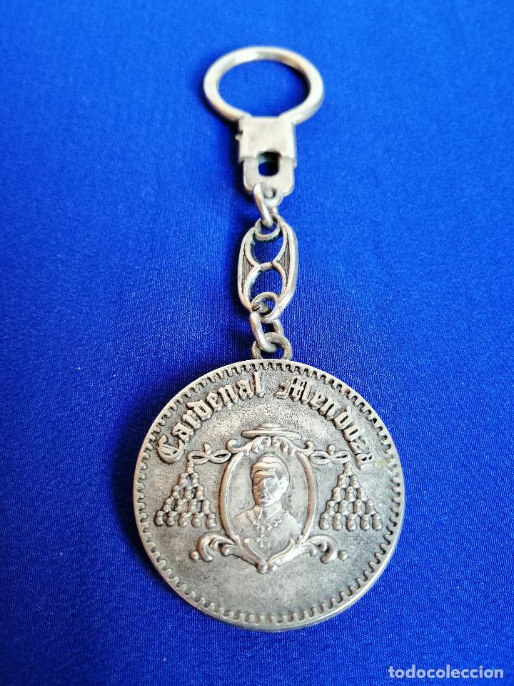 Coleccionismo de llaveros: LLAVERO CARDENAL MENDOZA -JEREZ - Foto 2 - 190739010
