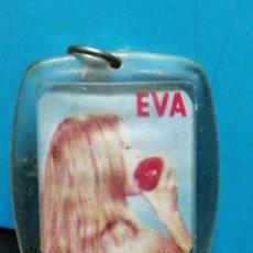 Coleccionismo de llaveros: LLAVERO AÑOS 70 FRUTAS FRUITES EVA . Lote 191129006
