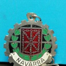 Collezionismo di Portachiavi: LLAVERO ANTIGUO ESCUDO NAVARRA . Lote 192939821
