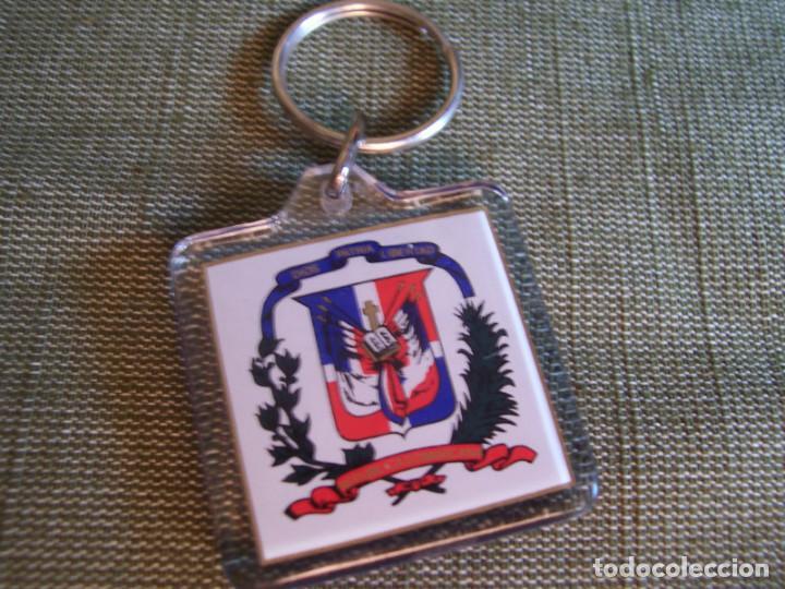LLAVERO SANTO DOMINGO REPUBLICA DOMINICANA (Coleccionismo - Llaveros)